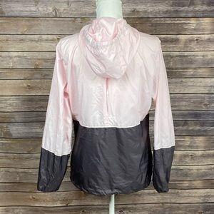 Columbia Jackets & Coats - Columbia Pink+Brown ZipUp Cinch Windbreaker Jacket